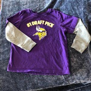 MN Vikings long sleeve t-shirt